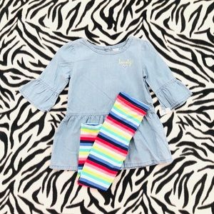 🎀🌈Carter's 3T Outfit🌈🎀